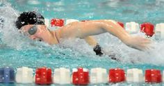 Jackson's Chase Kinney swims a preliminary event Saturday during the Northeast Swim Classic at CT Branin Natatorium.