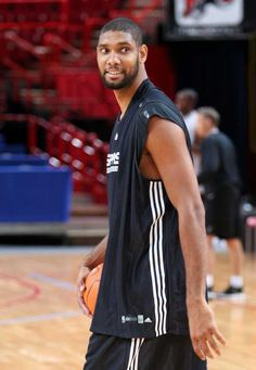 Someday I will meet and get my picture with him, on the bucket list.....Tim Duncan / San Antonio Spurs - NBA