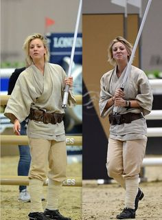 10 Mindblowing Pictures of Kaley Cuoco As A JEDI! Continued..... | World of Odd Balls