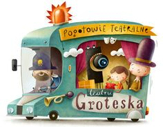 "Popatrz na ten projekt w @Behance: ""Illustration for Groteska Theatre"" https://www.behance.net/gallery/13048431/Illustration-for-Groteska-Theatre"