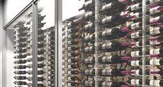 Avant-projet 3D – Armoire à vin inox & verre - Gravity
