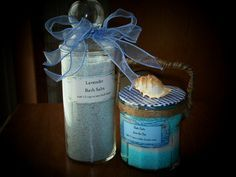 Make your own bath salts - frugal and easy!
