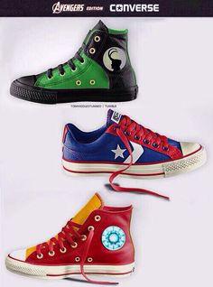 Marvel shoes converse I want them