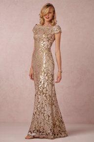 ~Anthropology~ long sparkling dress, wedding, cruise, formal