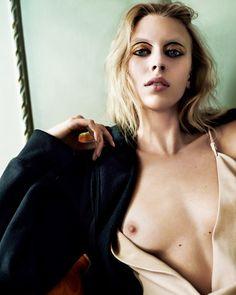 Juliana Schurig by Nick Dorey for i-D Magazine Summer 2014