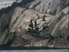 """La Cloche Channel,"" A. Casson, oil on board, x Roberts Gallery Tom Thomson, Group Of Seven, Channel, Oil, Landscape, Gallery, Artist, Painting, Image"