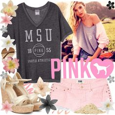 """""""PINK Dreams."""" by splendifurous ❤ liked on Polyvore"""