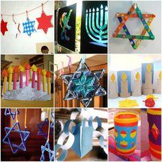 Handgemaakte Hanukkah: 25 Hanukkah ambachten te maken met kinderen