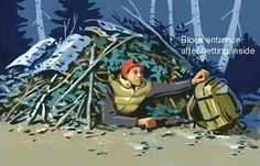 How To Make Survival Shelters - Seven Primitive Survival Shelters That Could Save Your Life - See more at: http://yearzerosurvival.com/seven-primitive-survival-shelters-that-could-save-your-life/#sthash.Z3xGKPTl.dpuf