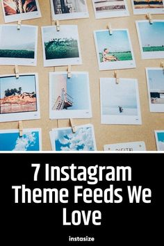 If you're looking for Instagram feed themes to get inspiration from, we  have 7 of our absolute favorites, as well as some tips to adapt their  awesome strategies to your own account:#Instasize #Instagram #SocialMedia Like Instagram, Instagram Worthy, Instagram Ideas, Rainbow Theme, Mixed Media Artwork, Unique Photo, Color Themes, First Photo, Textured Background
