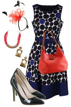 birdsnest Outfit of the Day for September 10th, 2012. This dress is a recipe for race day success! The addition of the fascinator makes your look race-worthy in minutes, while the mix of accessories keeps you on track for your best races look yet!