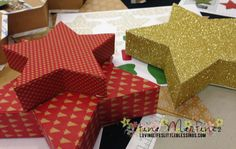 Stampin' Up Many Merry Star Simply Created Kit! - Loving Life's Little Blessings Group Projects, 3d Projects, Projects To Try, Stampin Up Many Merry Stars, Holiday Cards, Christmas Cards, Stampin Up Christmas, Stamping Up Cards, Paper Pumpkin