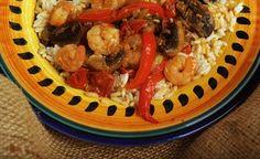 A tasty, quick shrimp sauté