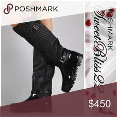 💄COMING SOON💄 Black Rain Boots Who says you can't be fabulous in the rain? These are the only boots you need this season! Cute, stylish, and waiting for you to take them home! Get them before your size sells out! Shoes Winter & Rain Boots