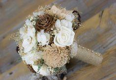 Wedding Bouquet Bridal Bouquet Woodland by CarolinaRosaDesigns
