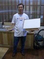 2009年6月27日 みんなの作品【額・鏡・壁飾り】|大阪の木工教室arbre(アルブル)