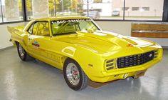 1969 Chevrolet Camaro RS Pro Street.