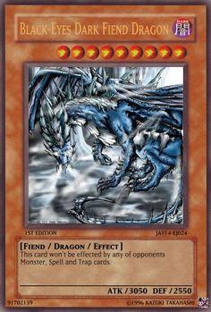 Black-Eyes Dark Fiend Dragon - Yu-Gi-Oh Card Maker Wiki - Cards, decks ...