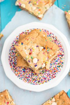 Funfetti blondies ar