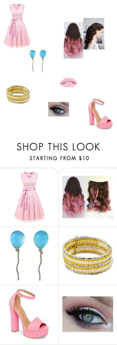 """""""Untitled #557"""" by queengeek487 on Polyvore featuring Vhernier and Chinese Laundry"""