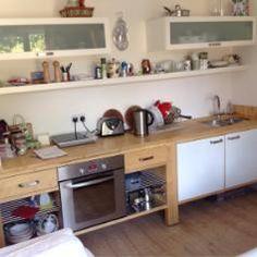 Ikea Varde kitchen units x 4 Kitchen Units, Kitchen Reno, Kitchen Design, Kitchen Cabinets, Kitchen Ideas, Galley Kitchens, Home Kitchens, Ikea Varde, Unfitted Kitchen