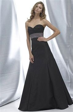Taffeta A-line Floor-length Sweetheart Sleeveless Sashes/ Ribbons Bridesmaid dress Style Code: 05290 $74