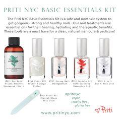 Natural, non toxic, vegan and organic nail polish and soy nail polish remover . Natural Manicure, Manicure And Pedicure, Nail Polish Kits, Healthy Nails, Nail Treatment, Us Nails, Essential Oils, Alcohol
