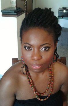 African american makeup artist Rome, Italy  www.janitahelova.com