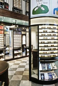 Warby Parker's store on New York City's Upper East Side.