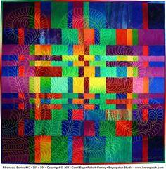 Fibonacci Series #12 © 2013 art quilt by Caryl Bryer Fallert-Gentry, Paducah KY