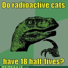 Philosoraptor: Radioactive Cats