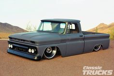 1966 GMC Fleetside - The Mistress - Classic Trucks Magazine - Hot Rod Lowered Trucks, C10 Trucks, Pickup Trucks, Truck Drivers, Semi Trucks, Lifted Trucks, Chevrolet Silverado, Chevrolet Trucks, Gmc Suv