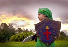 Nintendo Cosplay: Nate as Link, The Legend of Zelda ©Amber S. Wallace Photography, North Carolina