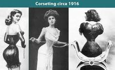 Image result for how to put on a corset