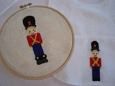 toy soldiers cross stitch