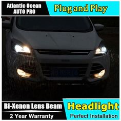 Nice Ford: 545.20$  Watch here - alivvx.worldwells... - AUTO.PRO led headlights for ford kuga 2013-2015 xenon H7 headlamps for ford kuga car styling LED guide bar DRL Q5 bi xenon lens 545.20$...  ☄Featured Brands☌ Check more at http://24car.top/2017/2017/04/02/ford-545-20-watch-here-alivvx-worldwells-auto-pro-led-headlights-for-ford-kuga-2013-2015-xenon-h7-headlamps-for-ford-kuga-car-styling-led-guide-bar-drl-q5-bi-xenon-lens-545-20-%e2%98%84/