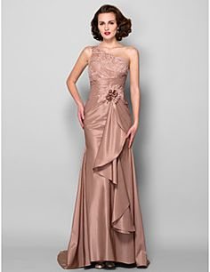 Trumpet/Mermaid One Shoulder Sweep/Brush Train Taffeta Mother of the Bride Dress Get unbeatable discounts up to Off at Light in the box using Mother's Day Promo Codes. Black Tie Wedding Guest Dress, Black Tie Wedding Guests, Wedding Wear, Bridesmaid Dresses, Prom Dresses, Formal Dresses, Wedding Dresses, Bride Dresses, Mother's Day Special Gifts