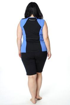 Tidal Tank Sporty Sleeveless Swim n' Gym Top - one of our many #chlorineproof options from HydroChic and now is the perfect season for bringing your #waterfun indoors!