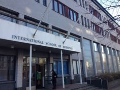 International School of Helsinki - I had the pleasure of speaking with some great students in Helsinki today!