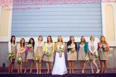 something unique for each bridesmaid