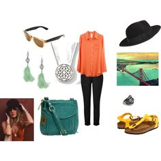 Outfit #1. inspired by Stevie Nicks, San Francisco, chillaxin', Autumn.