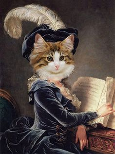 Royal Animals, Cat Purse, Beautiful Photos Of Nature, Fancy Cats, Cat People, Jolie Photo, Dog Portraits, Pet Clothes, Animal Drawings