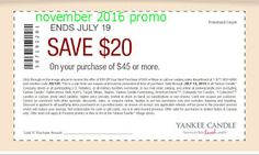 Yankee Candle Coupons Ends of Coupon Promo Codes JUNE 2020 ! Means we help charity. Love Coupons, Shopping Coupons, Grocery Coupons, Free Printable Coupons, Free Printables, Dollar General Couponing, Coupons For Boyfriend, Extreme Couponing, Coupon Organization