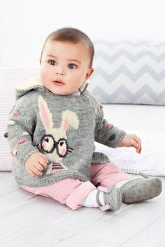 Grey Bunny Cardigan (0-18mths) from Next