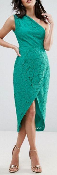 lace midi pencil dress