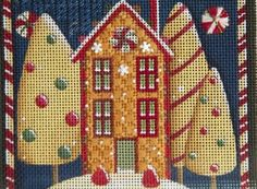 Blog with a gingerbread canvas