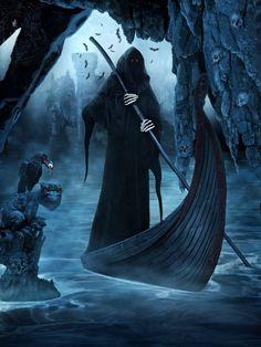 70 Mind Blowing Dark Photo Manipulations Web & Graphic Design on Bashooka Don't Fear The Reaper, Grim Reaper, Arte Horror, Horror Art, Dark Fantasy, Fantasy Art, Tattoo Bein, Dark Spirit, Reaper Tattoo