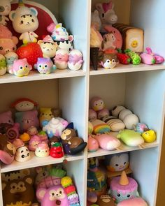 Some of our squishy collection Ibloom Squishies, Cute Squishies, Slime And Squishy, Shopkins Season, My American Girl Doll, Tween Girl Gifts, Disney Jokes, Kawaii Plush, Barbie Princess