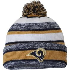 Rock a warm On-Field style like your favorite players and coaches with this knit beanie from New Era