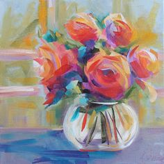 Artists Of Texas Contemporary Paintings and Art: Soaking Up Sunshine by Kay Wyne